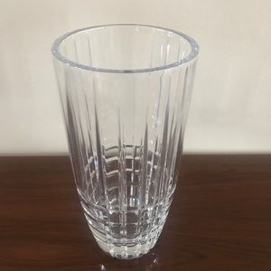 Crystal Vase By:  Tiffany & Co. 11 1/2 inch